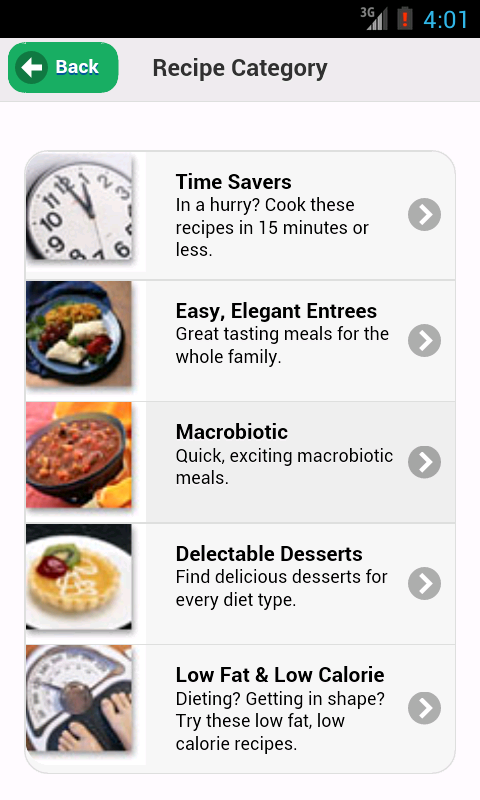 Zerbo's Health Foods- screenshot