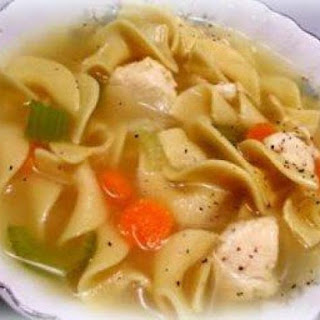 ~ Fix & Forget Chicken Noodle Soup ~ ( Crock Pot )