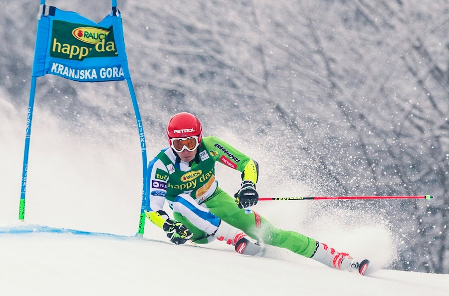 Zan Kranjec (SLO)  by Urban Meglič - Sports & Fitness Snow Sports ( pokal vitranc, ski, 57. pokal vitranc, sports, 50th anniversary of the first world cup race in kranjska gora, smucarski, sport, winter sports, alpine )