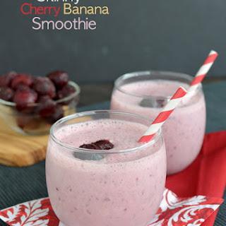 Skinny Cherry Banana Smoothie