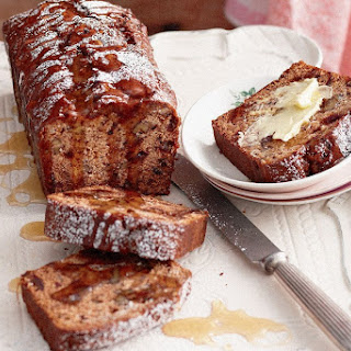 Walnut And Date Cake.