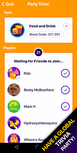 Sporcle Party  screenshots 5