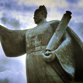 Statue of Zheng He. by Awang Kassim - Buildings & Architecture Statues & Monuments ( art, statues, architecture )