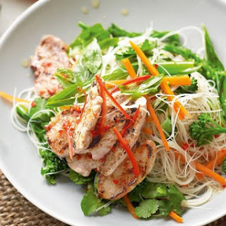 Thai Pork Vermicelli Salad.