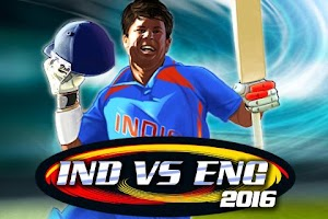 Screenshot of India vs England 2016
