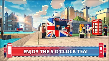 London Craft: Blocky Building Games 3D 2018