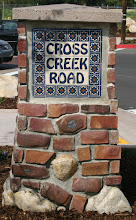 Photo: Cross Creek Road Sign -Malibu Tile Works Commissioned by the City of Malibu, CA