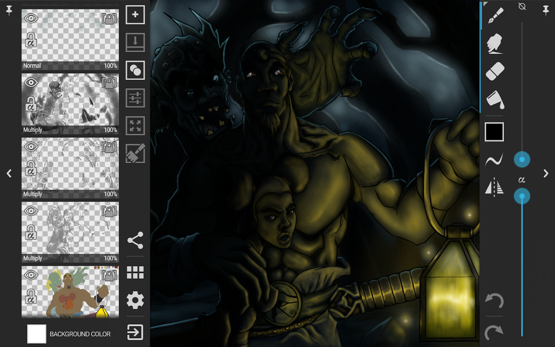 ArtFlow: Paint Draw Sketchbook- screenshot