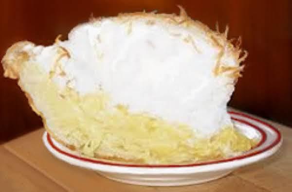 Coconut Cream Pie Using The Basic Cream Pie Filling.