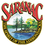 Logo of Saranac Darktoberfest