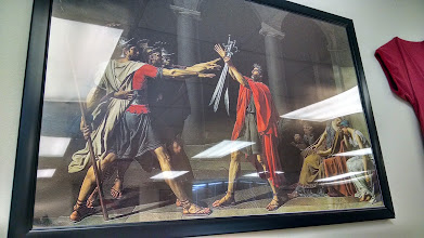 "Photo: Great image, David's ""Oath or Horatii"" - great for both Fall (Rome) and Spring (French Rev.)"