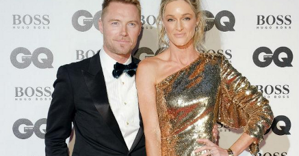 Ronan Keating backs wife for Strictly