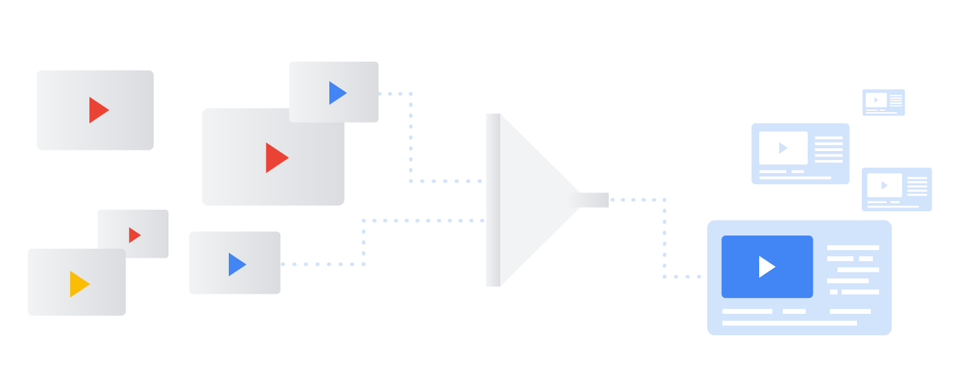 Streamlined and improved workflows for video content ingestion