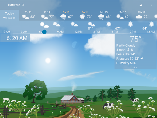 Awesome Weather - YoWindow app (apk) free download for Android/PC/Windows screenshot