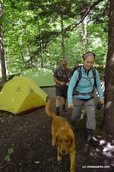 Photo: Hikers heading out for the day at Underhill State Park by Jim Eaton