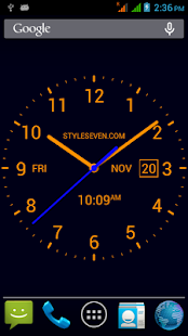 Analog Clock LiveWallpaper7PRO- screenshot thumbnail