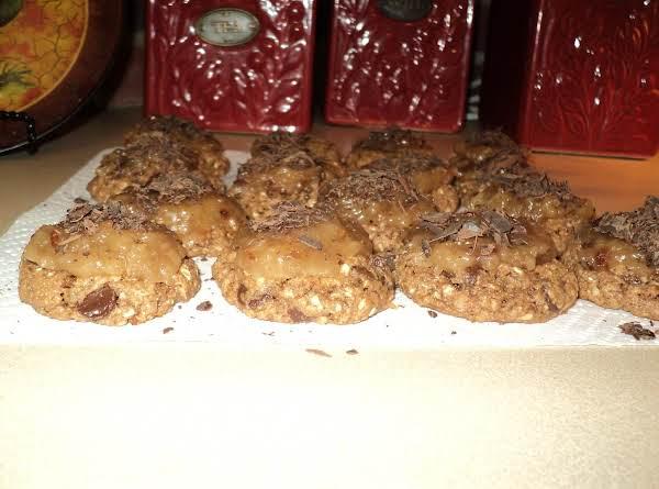 German Chocolate Chip Cookies
