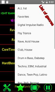 Trance Dance House Techno radio - náhled