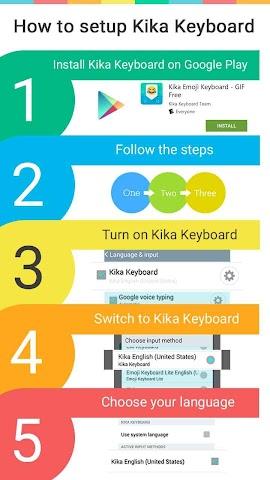 android Innocent Love Emoji Keyboard Screenshot 3