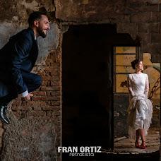Wedding photographer Fran Ortiz (franortiz). Photo of 14.10.2018