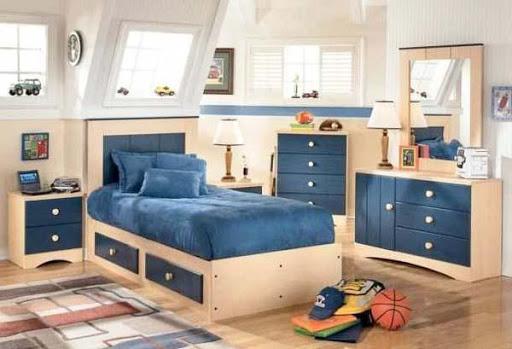 ベッドルームストレージデザインのアイデア