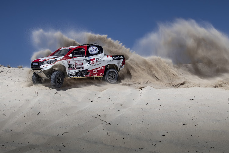 Despite a string of podiums the SA-built Toyota Hilux has yet to win the Dakar Rally. Could 2019 be its year? Picture: SUPPLIED
