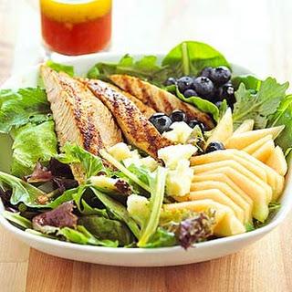 Cajun Turkey and Fresh Melon Salad.