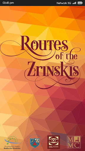 Routes of the Zrinskis
