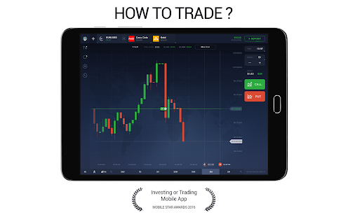 Automated binary trading app