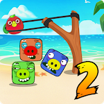 Crazy Chicken - jungle pigs Icon