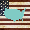 US states Quiz - Capitals, Flags and Maps icon