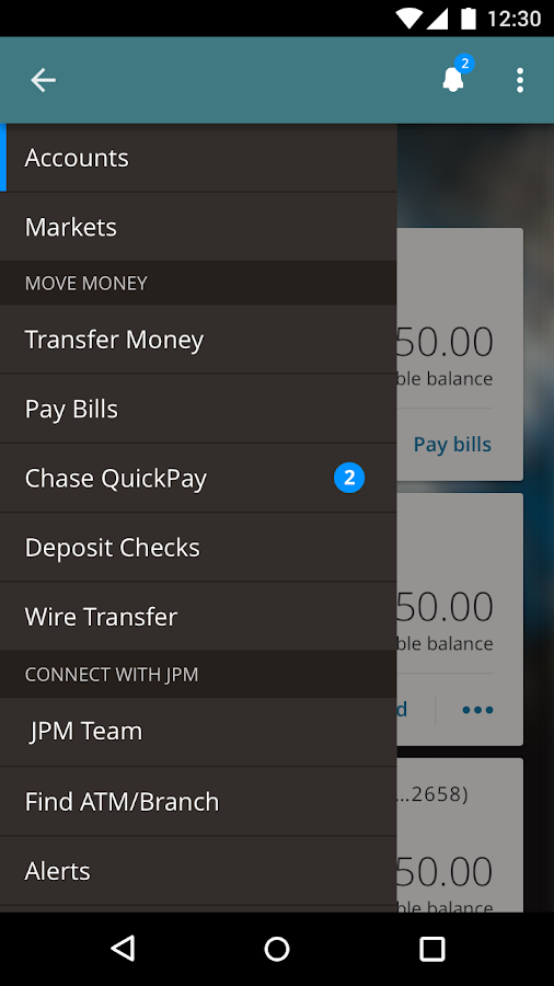 J.P. Morgan Mobile- screenshot