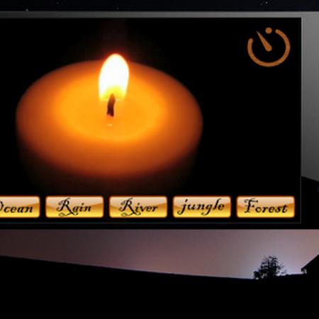 Night Candle : relaxation, sleep, meditation music v57.0
