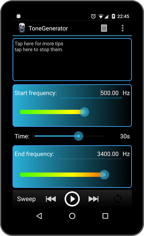 Function Generator For Windows : Tone generator pro android apps on google play