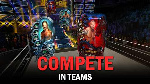 WWE SuperCard - Multiplayer Collector Card Game screenshot 4