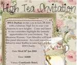BWA High Tea : Coastlands Umhlanga Hotel and Convention Centre
