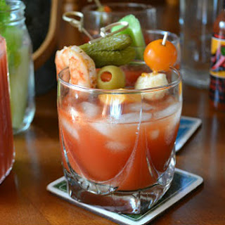 Fresh Bloody Mary Mix.