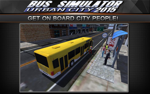 Bus Simulator 2015: Urban City 2.2 screenshots 2