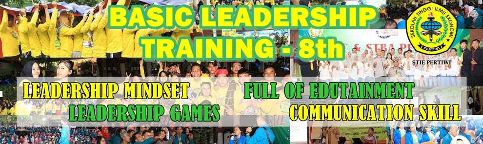Basic Leadership Training STIE Pertiwi