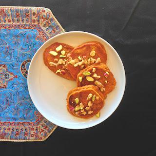 Persian Pumpkin Pancakes - KAKA