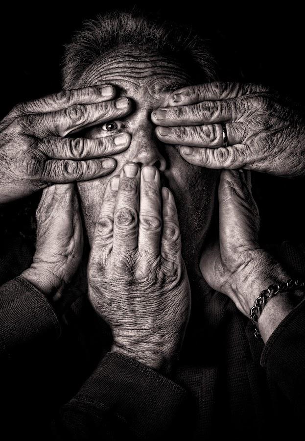 See No Evil? by Curtis Jones - People Body Parts ( pwchandsandfeet )