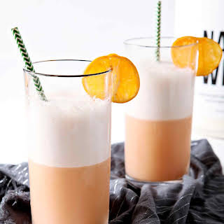 Creamy Winter Citrus Smoothie.