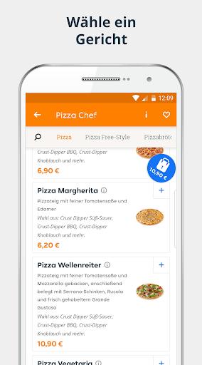 pizza.de | Food Delivery  screenshots 2