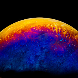 A NEW DAWN by Russell Mander - Abstract Patterns ( patterns, bubbles, soap, colours, soap bubbles )