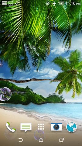 android Beach LWP + Jigsaw Puzzle Screenshot 4