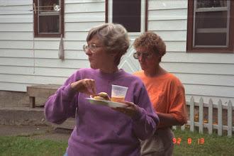 Photo: Sharon Roy and Judy Shea