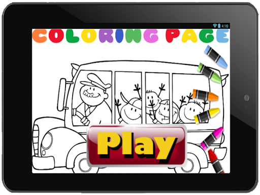 colorful coloring book