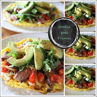 Steak 'n Egg Breakfast Pizza