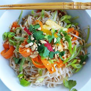 Fresh Asian Noodle Bowl.