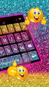 Color Glitter Keyboard 1.0 MOD for Android 3